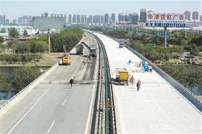 天津:京津塘高速北部新区段高架9日通车