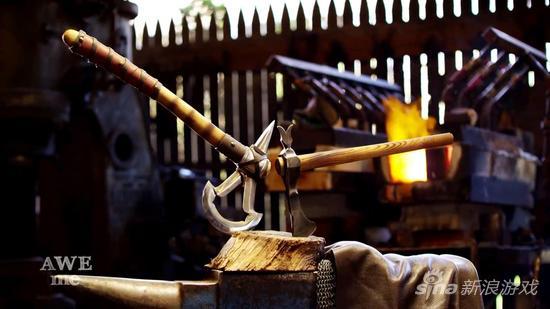 锻造师重铸的《刺客信条3》战斧