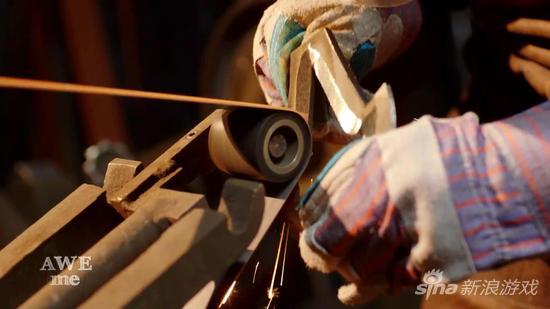 锻造师重铸《刺客信条3》战斧