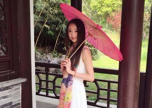 河海大学女博士小刘本人供图