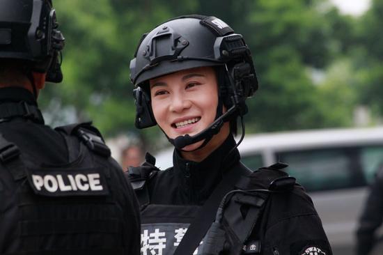 《特警》热播 安雅萍成中国好队友|特警力量|安雅萍