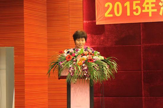 海南省农业厅周燕华副厅长发表讲话