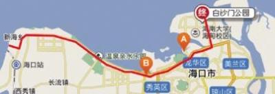 有轨电车1号线途经路线(资料图)