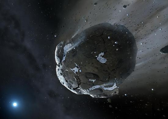 天文学家发现地球水可能来自小行星最新证据
