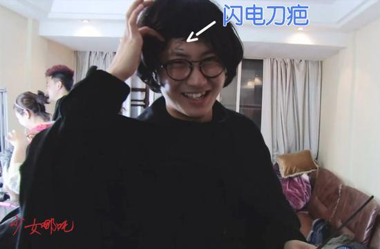 李欢扮演哈利·波特