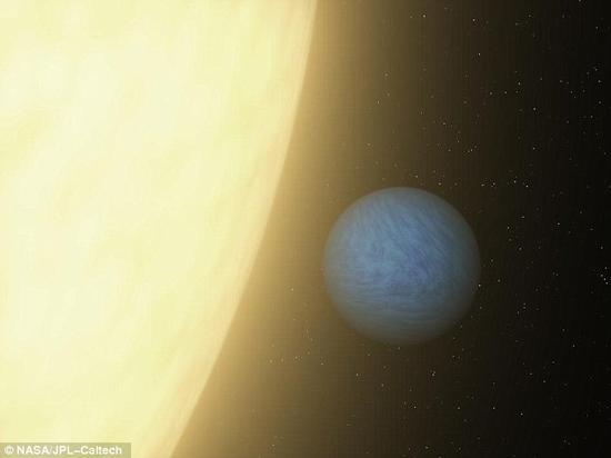 """火山活动在""""超级地球""""上引发剧烈气温波动"""
