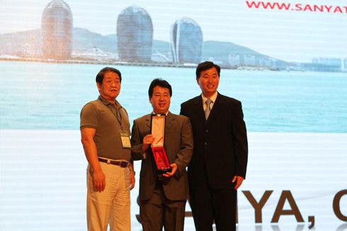 三亚在第六届TPO大会上获得城市宣传片大奖(资料图片)