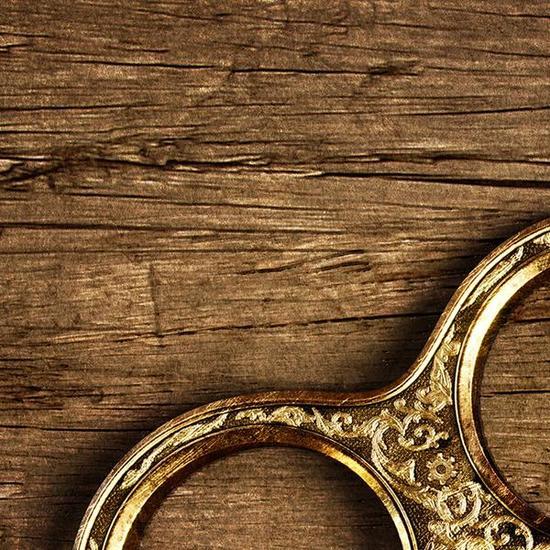 黄铜指环细节