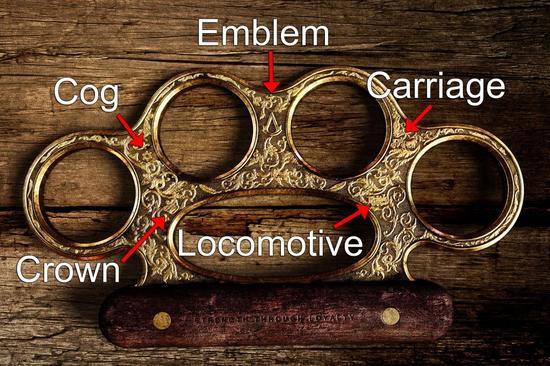 此前曝光的《刺客信条:辛迪加》中的黄铜指环