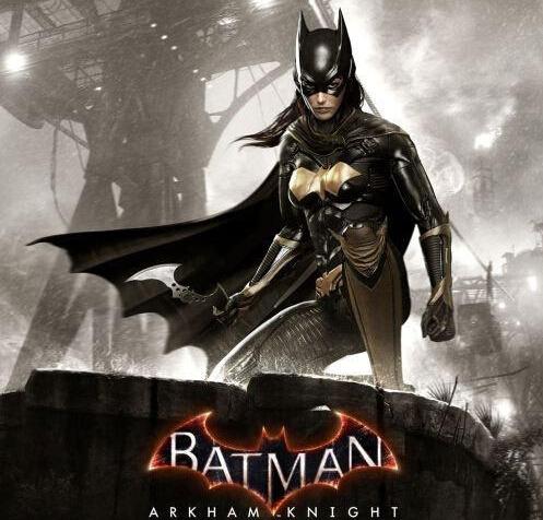 《蝙蝠侠:阿甘骑士》中的蝙蝠女