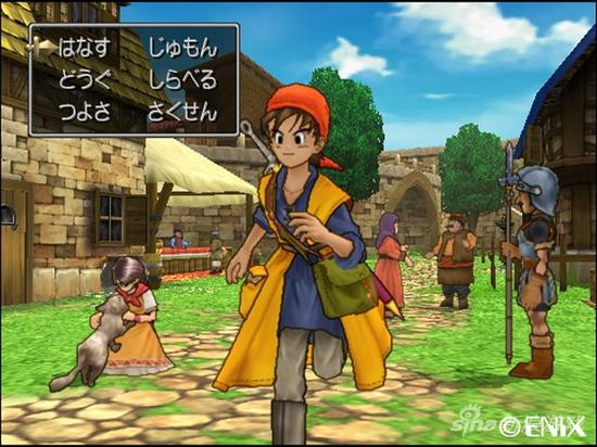 PS2版《勇者斗恶龙8》游戏画面