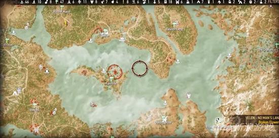 深度探索《巫师3》地图