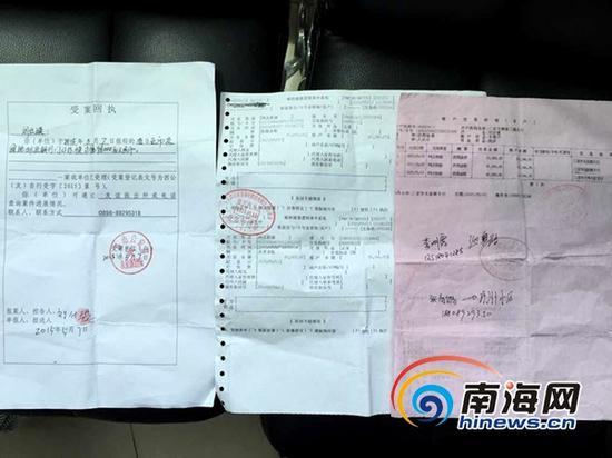 三亚警方已介入调查(三亚新闻网记者 刘丽萍 摄)