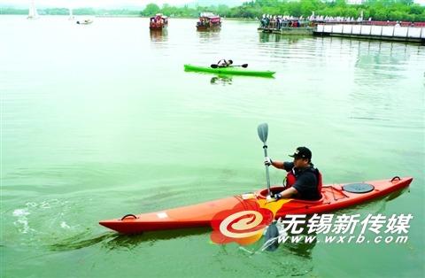 【无锡蠡湖玩皮划艇运动价值本月锻炼】体操v价值的完工基地图片