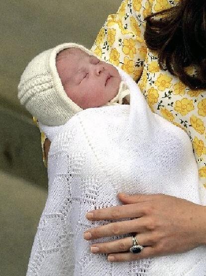 夏洛特小公主一出生就成了媒体关注的焦点