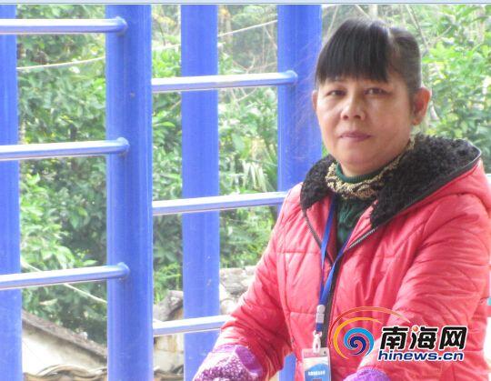 50岁的支教老师黎海凤
