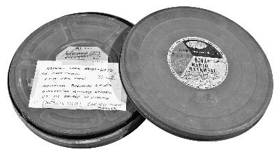 张学良罕见的英语电影新闻纪录片胶片,至今仍能播放。在纪录片中,张学良痛斥日军侵略中国,纪录片还航拍了北京城。