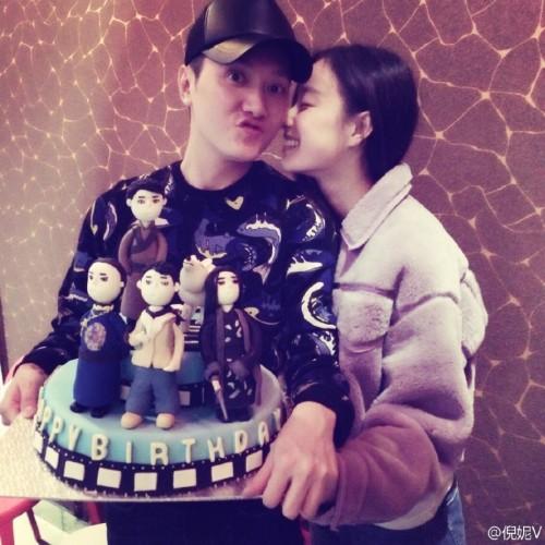 冯绍峰倪妮被曝分手,结束三年情。