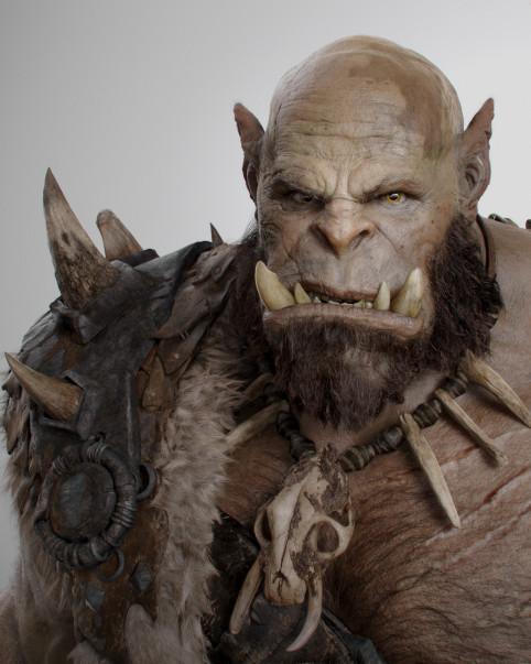 兽人酋长奥格瑞姆定妆照
