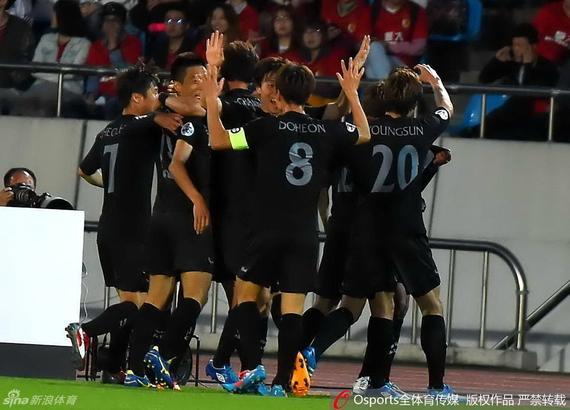 城南主帅金鹤范:我们配得上胜利