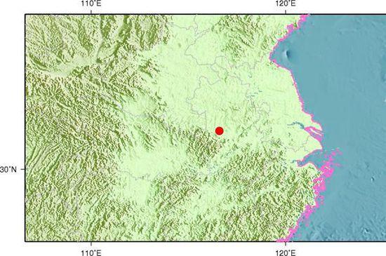 安徽六安金安区发生3.3级地震