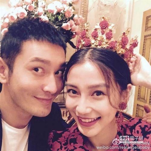 网曝baby黄晓明在法国拍婚纱照 今年将办婚礼