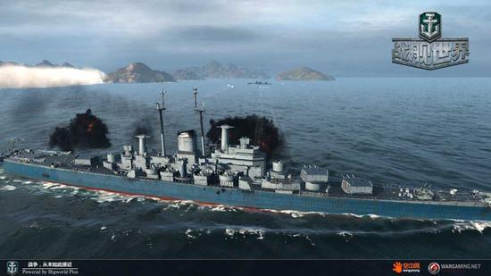 船体长218.39米, 203mm主炮口径