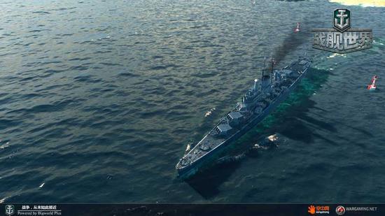 巡洋舰中的全能战士