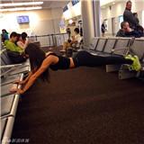 中韩美三国健身美女大PK 身材性感颜值火爆