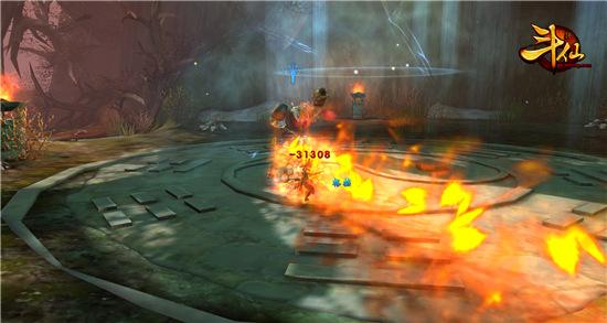 图1:《斗仙》游戏截图