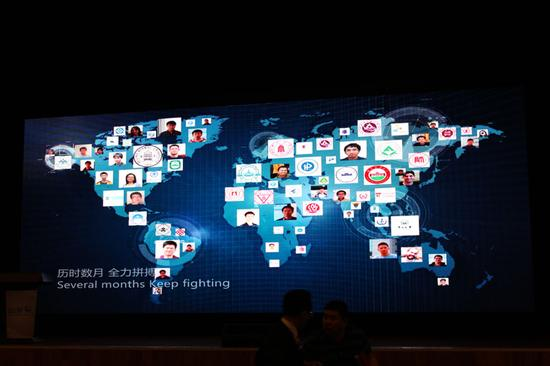 全球6大洲的135所高校的152支队伍报名参赛