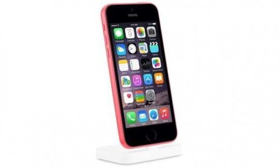 粉色外壳的疑似iPhone6c的样品图
