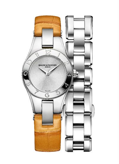 Ling Ni series Baume & Mercier watches vitality honey Price: 17,900 CNY