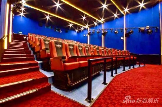 首都电影院西单店MX4D影厅