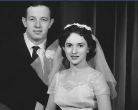 约翰・纳什和妻子生前合影