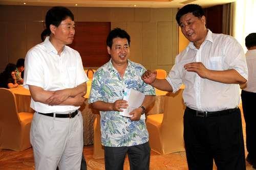 三亚市委常委、常务副市长岳进、市旅游委领导,和TPO总部人员交换现场检查意见