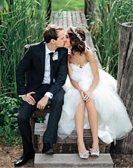 浪漫婚纱造型