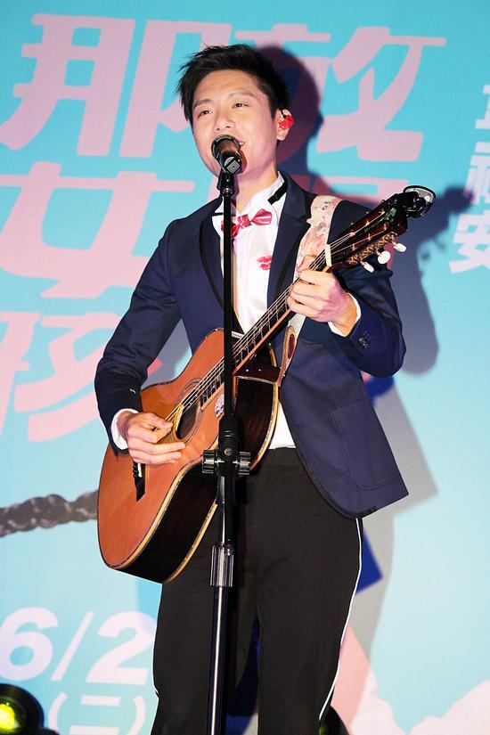 韦礼安演唱演唱会宣传新歌