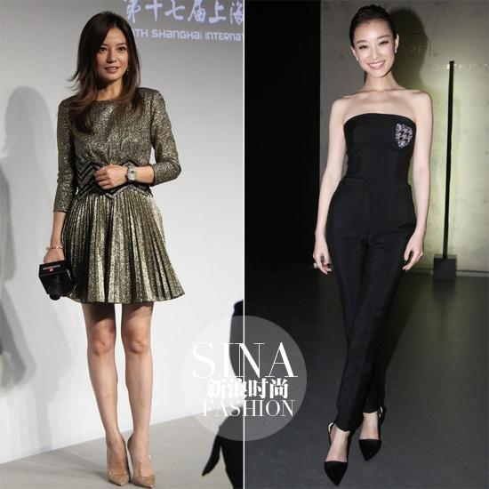 左:赵薇-右:倪妮