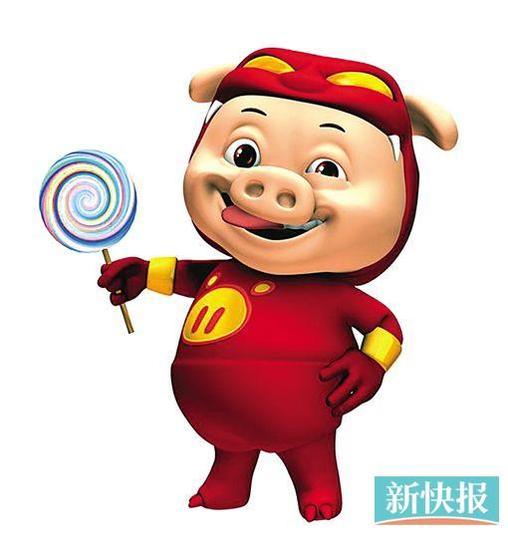 猪猪侠卡通图片简笔画