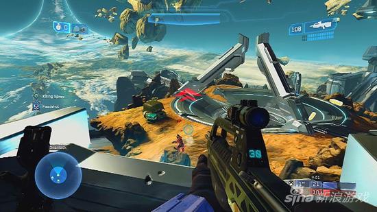《光环:士官长合集》游戏画面