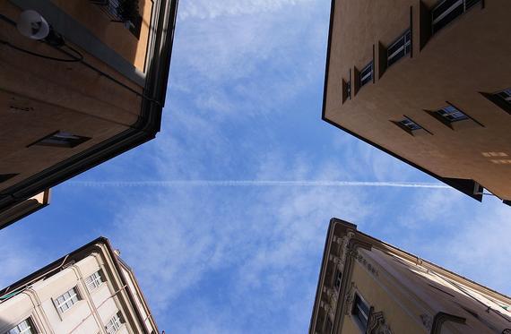 意大利都灵的天空蓝,对中国人来说,也是一种奢侈品
