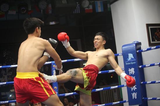 """""""博海争霸""""CBCU2015系列赛国际排名赛第三场比赛于5月29日在博海拳击俱乐部激烈开战。"""