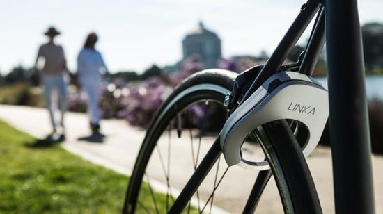 Linka自行车锁