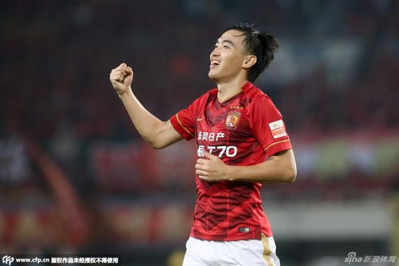 冯潇霆赛后坦言,好久不进球,都有点不习气庆贺了