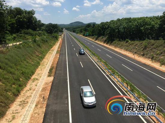 屯琼(屯昌-琼中)高速公路5月30日通车