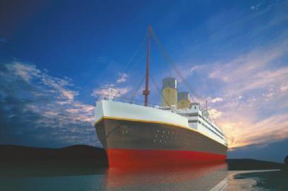 """即将""""复活""""的泰坦尼克号。"""