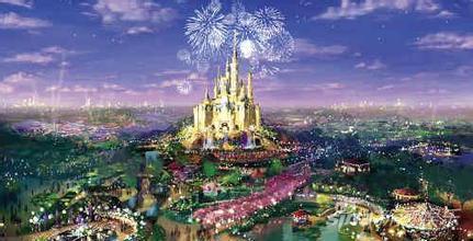 上海迪士尼效果图