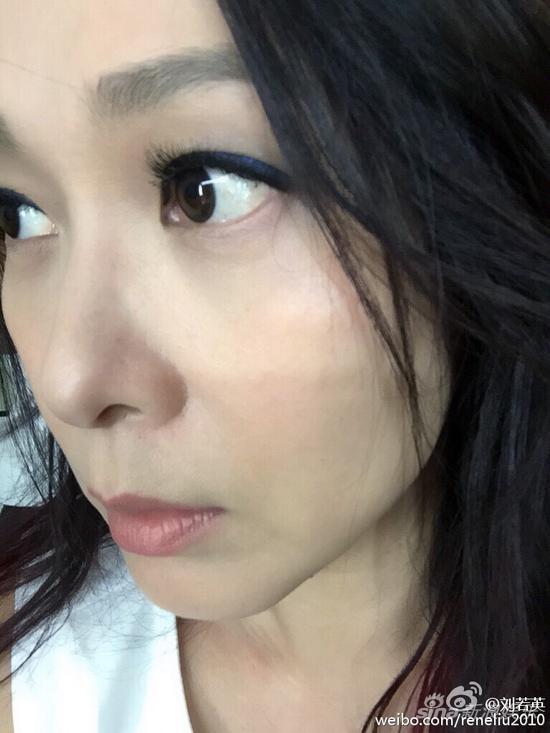刘若英录制新歌