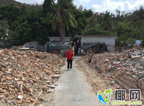 该宿舍区已有部门建筑被拆除